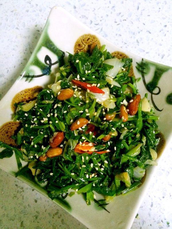 凉拌菠菜的做法,凉拌菠菜的做法