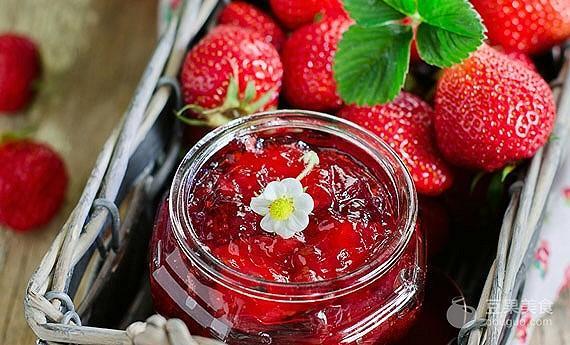 草莓酱的做法,自制草莓酱的做法