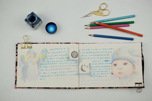 成长纪念册怎么做,手把手教你画出宝宝成长纪念册