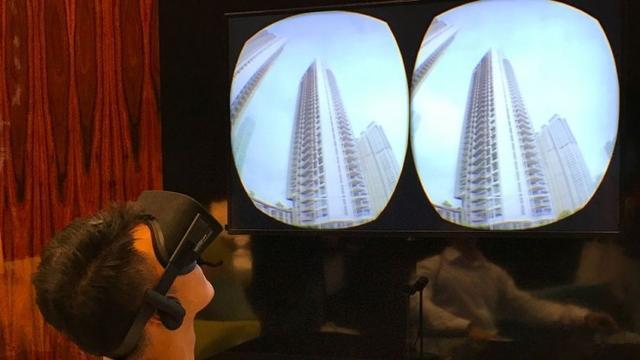 vr样板房,新加坡房地产商推出VR样板房,不用走一步路就可以看到各种样板房