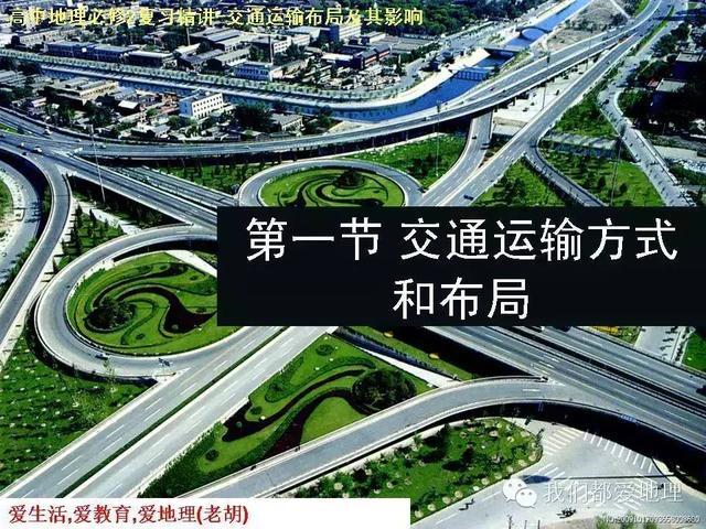 高中地理必修2复习精讲-交通运输方式和布局