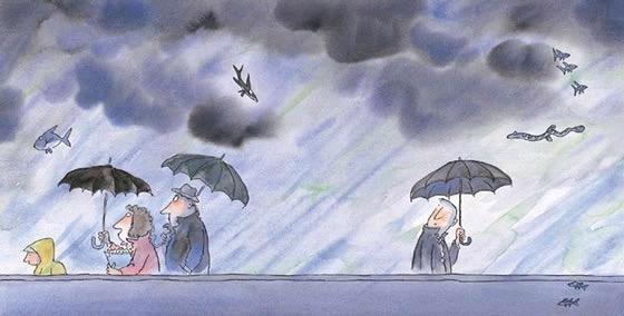 绘本漫画,治愈系绘本漫画《微笑的鱼》