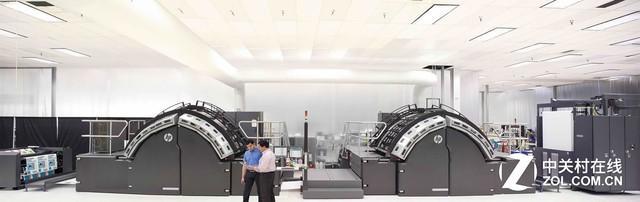 印刷机,惠普新推8款Indigo和PageWide印刷机
