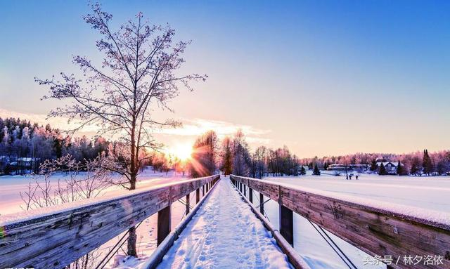 下雪的唯美短句,43行冬雪短篇,唯美的朦胧意境!