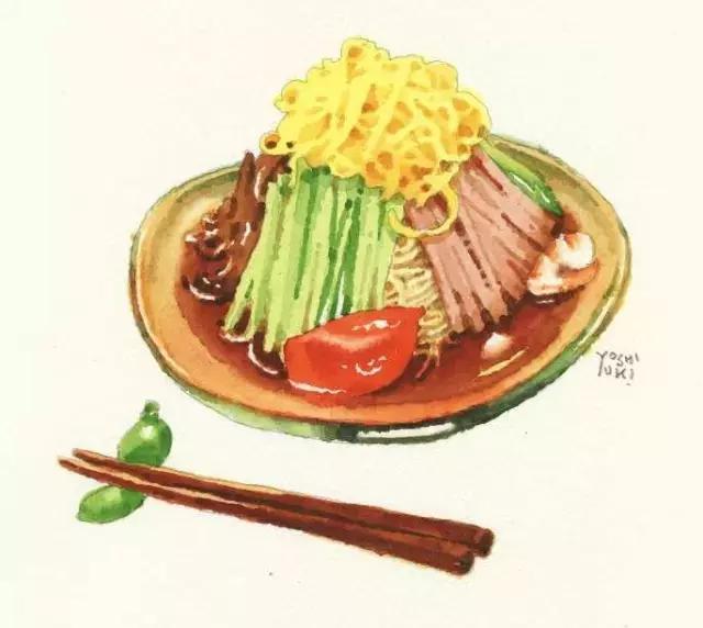 食物漫画,萌萌哒的一组美食漫画,看完我又饿了~(╯╰)