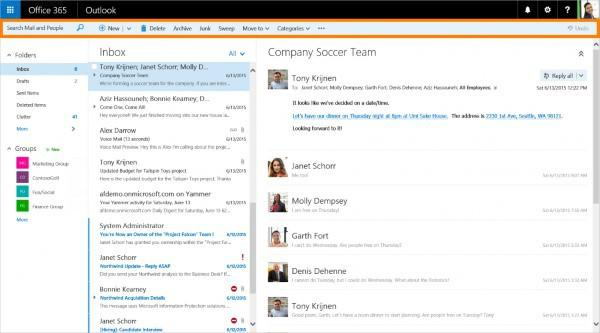 网页更新,网页版Outlook更新 界面重设功能增多