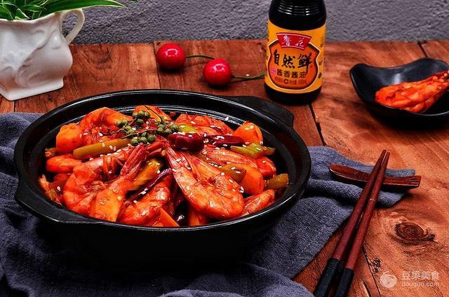 香辣虾的做法,网红香辣虾的做法