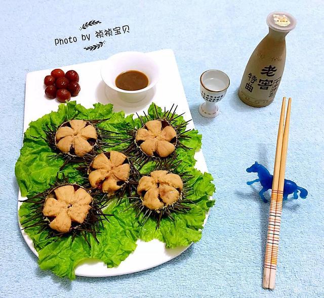 海胆的吃法,花式海胆的做法
