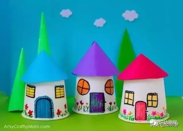 小制作怎么做,【纸杯手工】100种幼儿园纸杯创意手工制作,不可错过!