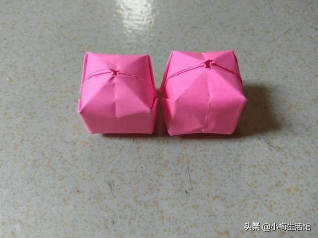 灯笼怎么做,折纸:像油豆腐(豆腐泡)的折纸灯笼你见过吗?看了好想咬一口