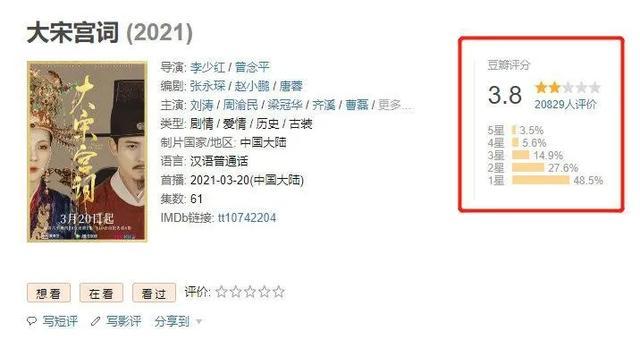 刘涛演的十五岁女主角刘娥,再也不黑巩俐了.
