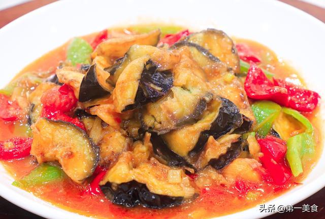 烧茄子的做法,厨师长分享红烧茄子简单做法,茄子少油又入味,经常吃也不会腻