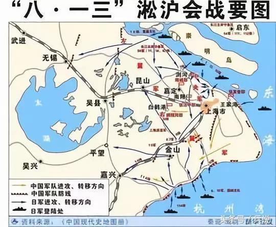 淞沪会战简介,淞沪会战之谜:并非为了改变日军进攻方向,另有难言之隐