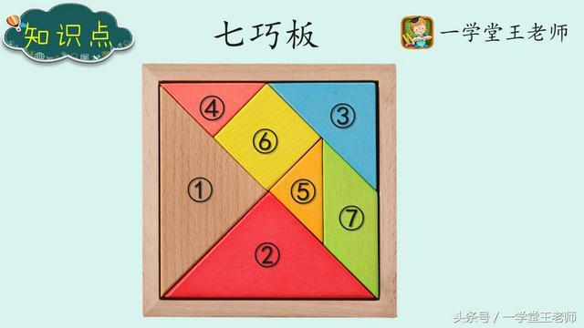 七巧板~图形组合类益智玩具,可以锻炼孩子空间思维和创造能力!