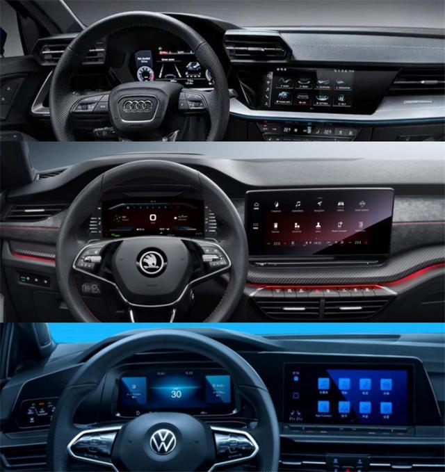 德系车有哪些,出自MQB EVO平台的3款德系,一款更比一款亲民