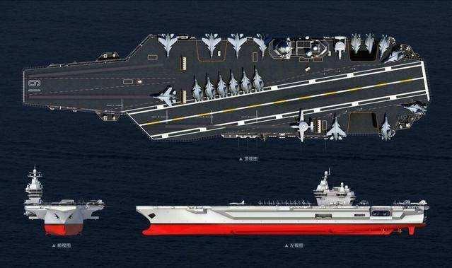 中国004型航母最新消息,2021年底前开建,004航母采用常规动力?美国会:核技术仍未突破