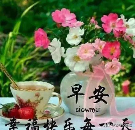 送朋友祝福语,最新版早晨问候朋友暖心句子 幸福暖心的早上好动态美图送给大家