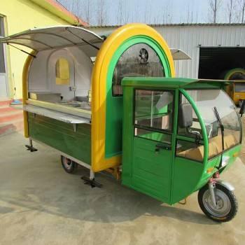 多功能美食车,潍坊电动小吃车厂家直销电动四轮小吃车快餐车早餐车订做厂家