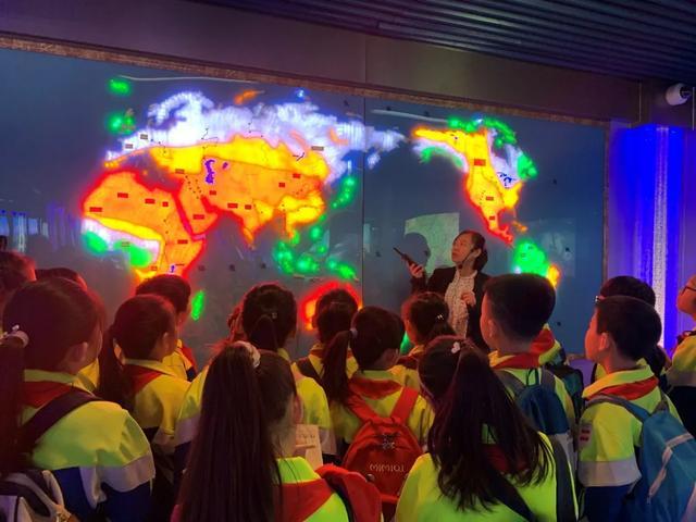 实验小学,节水中国,你我同行——红桥区实验小学学生走进天津市节水科技馆