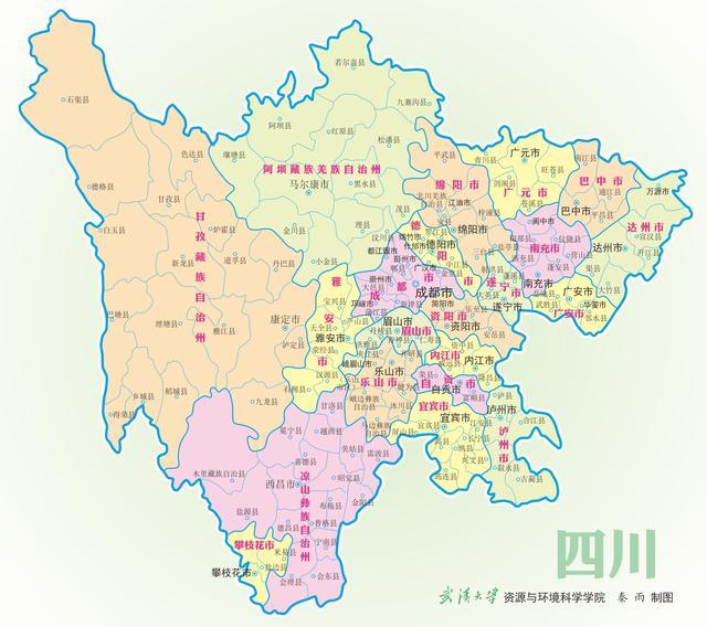 阆怎么读,四川这三个县名字一读就错,你读对了吗?