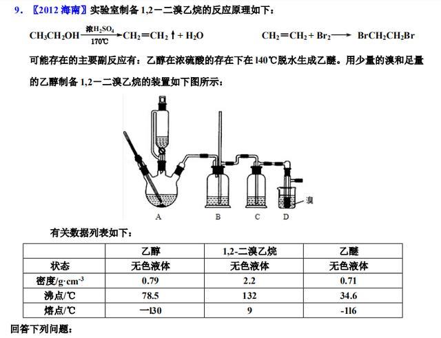 高中化学常出实验题型(含解析),掌握学霸的方法!就能拿高分