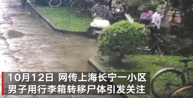 """上海警方回应""""女子被装行李箱抛尸"""",记者探访事发小区:居民见嫌犯拖行李箱,二人住邻楼事发前曾争吵 全球新闻风头榜 第1张"""