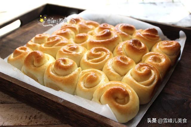 孩子迷上蜂蜜小面包,酥脆香软简单易做,即可当点心又可当零食
