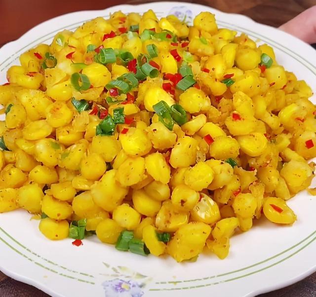 椒盐玉米的做法,又香又脆 教你怎么做椒盐玉米