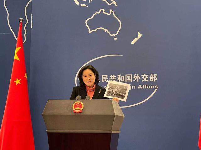 有图有真相!华春莹拿出照片:中国美国,到底谁在强迫劳动? 全球新闻风头榜 第1张