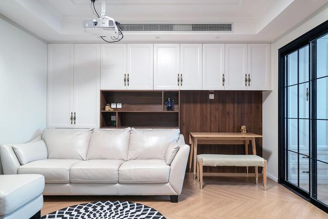 小户型装修,60㎡住一家三口!两房一厅,每一平都被安排得明白,简单幸福