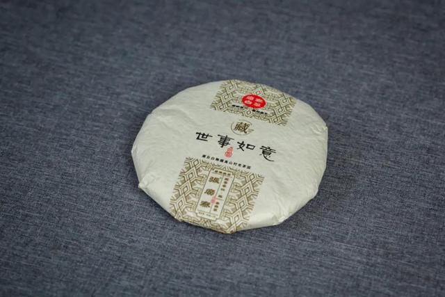 佳寓意,世事如意老白茶   汤感好寓意佳,罕见的十二年陈老白茶