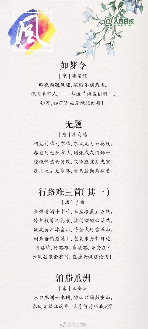 天气的诗,人民日报推荐36首绝美诗词,让孩子学学古人如何描写天气