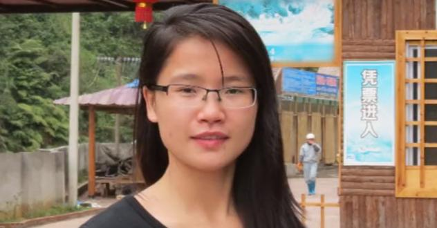 曾在广西平南实验学校出任老师的何思云走上热搜榜