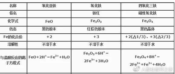 高中化学必修第一册《第一节 铁及其化合物》优质课公开课教案