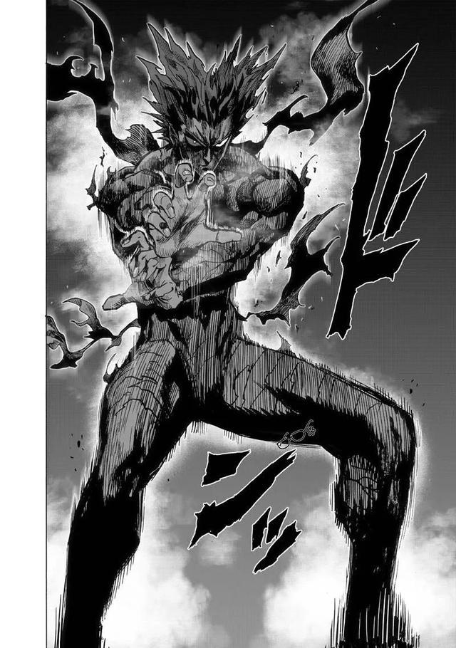饿狼传说漫画,一拳超人漫画133话(下)饿狼大战怪人王大蛇