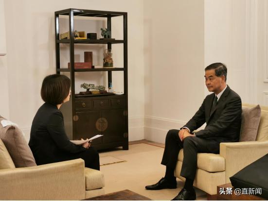 """如果那天把该说的话好好说,梁振英:在香港""""中国共产党员""""这几个字完全可以大胆说出来"""