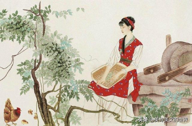 温庭筠的诗,温庭筠最短的一首词,被批有失水准,却写出了词坛最美的一见钟情