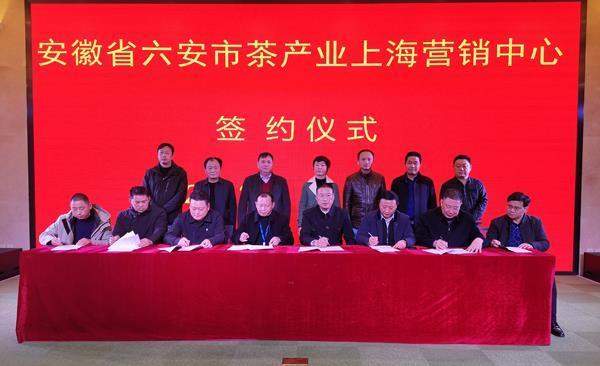 上海营销策划公司,六安茶产业上海营销中心签约仪式成功举行