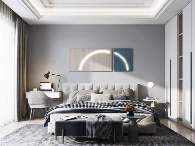 室内装修效果图大全,35款卧室设计   一个好的卧室设计,是创造良好睡眠的根本