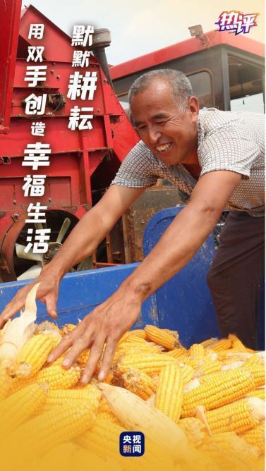 寓意着,热评丨致敬农民 金秋的每一种颜色都代表着收获