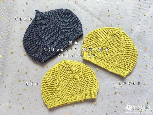 婴儿 帽子,适合新手编织!粗针织1-3岁棒针宝宝帽子(附图解)