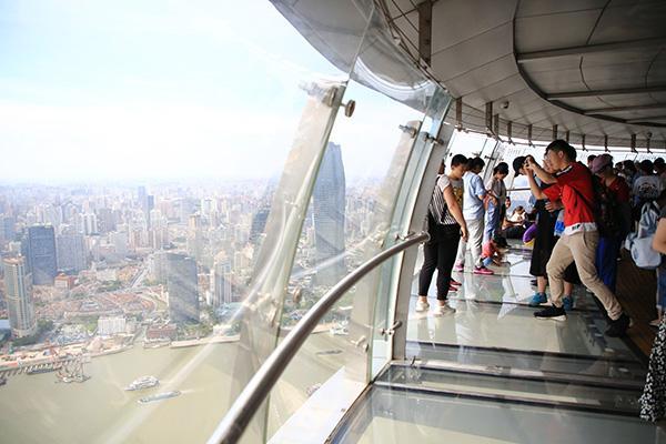 """东方明珠图片,东方明珠只能登高?""""新基建""""让本地游客认识""""宝藏地标"""""""