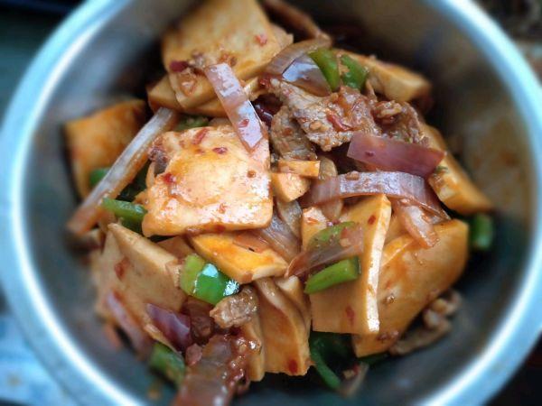 千叶豆腐的做法,学会千叶豆腐,早餐不用愁