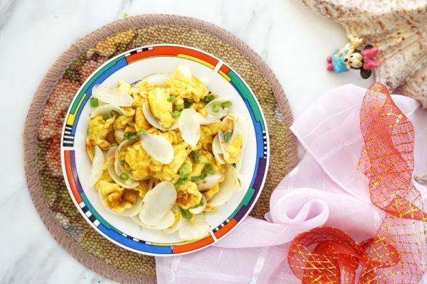 百合的吃法和做法,#春日时令,美味尝鲜# 百合炒鸡蛋