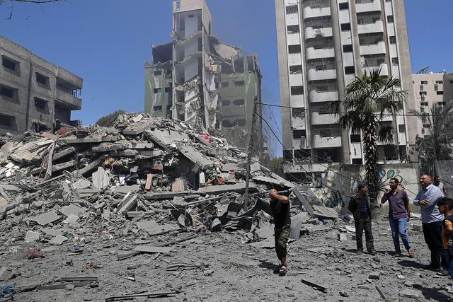 以色列空袭加沙再致42人死亡 含10名儿童 全球新闻风头榜 第1张