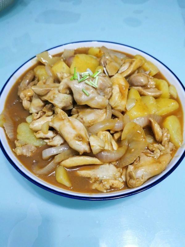 咖喱鸡肉土豆的做法,简单快手,超级好吃,你一定要学的咖喱土豆鸡