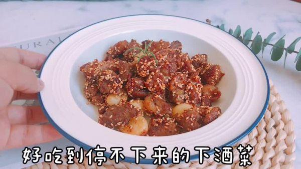 孜然牛肉的做法,这道孜然牛肉粒,怎么做都好吃