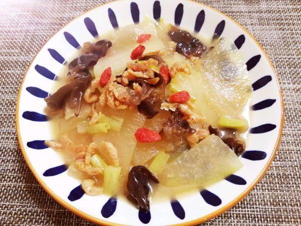海米的吃法,#我为奥运出食力#海米烧冬瓜