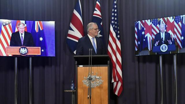 """与莫里森谈完,马来西亚总理警告:AUKUS将成为""""核军备竞赛的催化剂"""""""