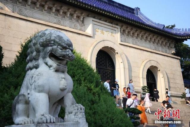 南京中山陵确保民众有序参观 中山陵墓室不对外开放 全球新闻风头榜 第5张